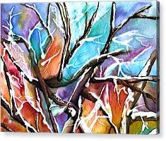 Oaxie Acrylic Print