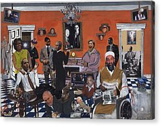 Obama Nation Acrylic Print by Reginald Williams