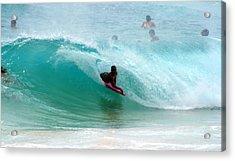 Obama's Boyhood Bodysurfing Beach Acrylic Print