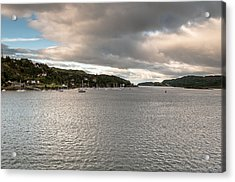 Acrylic Print featuring the photograph Oban's Lagoon by Sergey Simanovsky