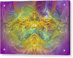 Obeisance To Nature - Spiritual Abstract Art Acrylic Print