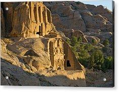 Obelisks Tomb, Petra, Jordan (unesco Acrylic Print by Keren Su