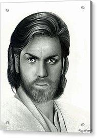 Obi Wan Kenobi Acrylic Print