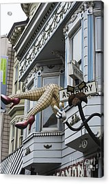 Obligatory S F Image Acrylic Print by David Bearden