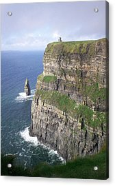 Cliffs Of Moher - O'brien's Tower Acrylic Print