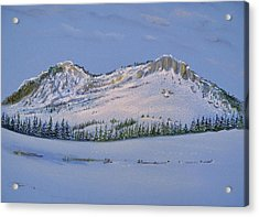 Observation Peak Acrylic Print