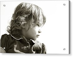 Observations Of A Child Acrylic Print