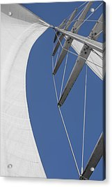 Obsession Sails 9 Acrylic Print by Scott Campbell