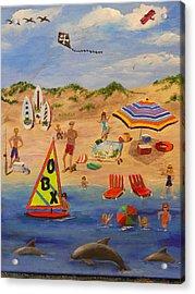 Obx Beach Acrylic Print