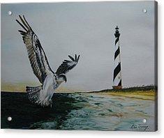 O.b.x. Acrylic Print by Stan Tenney