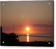 Obx Sunset Acrylic Print