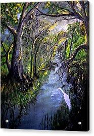 Ocala Creek Acrylic Print