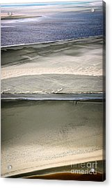 Ocean At Low Tide Acrylic Print by Elena Elisseeva