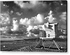 Ocean Beach Lifeguard Tower Acrylic Print