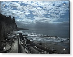 Ocean Beach Pacific Northwest Acrylic Print