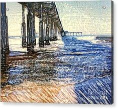 Ocean Beach Pier Acrylic Print