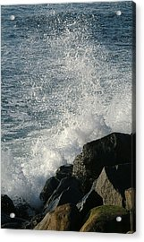 Ocean Beach Splash 1 Acrylic Print