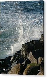Ocean Beach Splash 2 Acrylic Print