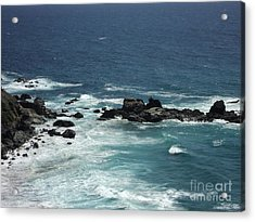 Ocean Blue Acrylic Print by Carla Carson