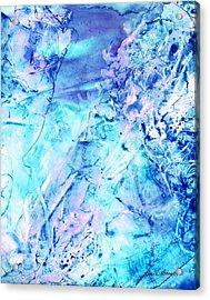 Ocean Bottom Acrylic Print by Rosie Brown