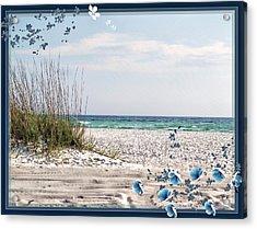 Ocean Breeze Acrylic Print by Athala Carole Bruckner