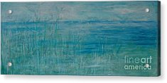 Acrylic Print featuring the painting Ocean Breeze by Jocelyn Friis