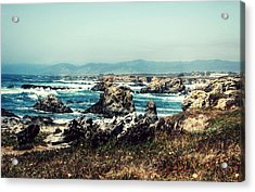 Ocean Breeze Acrylic Print by Melanie Lankford Photography