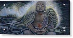 Ocean Buddha Acrylic Print