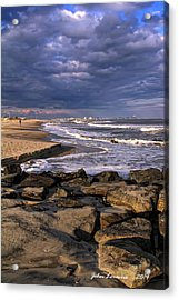 Ocean City Jetty Acrylic Print