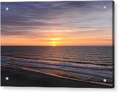 Ocean City Sunrise Acrylic Print
