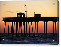 Acrylic Print featuring the photograph Ocean City Sunset by Dan Myers