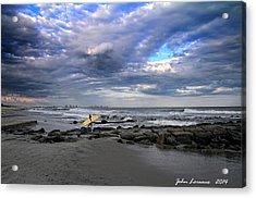 Ocean City Surfing Acrylic Print