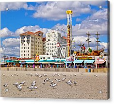 Ocean City View Acrylic Print