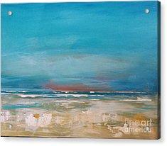 Ocean Acrylic Print by Diana Bursztein