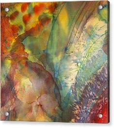 Ocean Eight Acrylic Print by Beverly Johnson
