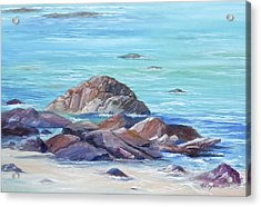 Ocean Emotion #3 Acrylic Print