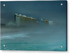 Acrylic Print featuring the photograph Ocean Fog by Ed Roberts