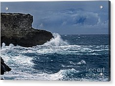 Ocean Forces Acrylic Print by Skip Willits