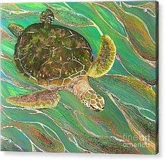 Ocean Glider 1 Acrylic Print