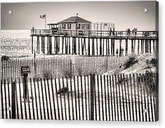 Ocean Grove Fishing Club Acrylic Print