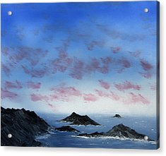 Ocean Islands Acrylic Print