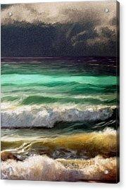 Ocean Acrylic Print by James Shepherd