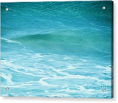 Ocean Lullaby Acrylic Print by Roselynne Broussard