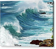 Ocean Majesty Acrylic Print by Patricia Griffin Brett