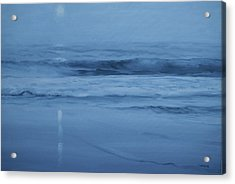 Ocean Nocturne Acrylic Print by Richard Hinger
