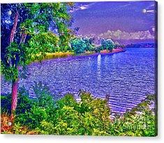 Ocean Of Romance Acrylic Print