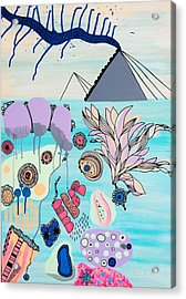 Ocean Parade Acrylic Print by Susan Claire