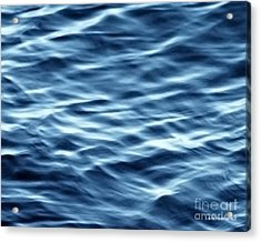 Ocean Ripples Acrylic Print by Artist and Photographer Laura Wrede