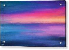 Ocean Rises Acrylic Print by Lourry Legarde