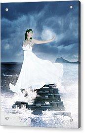 Siren Acrylic Print by Ester  Rogers